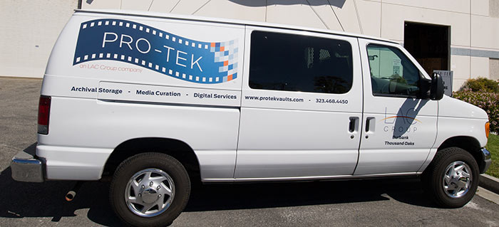 PRO-TEK delivery and pickup