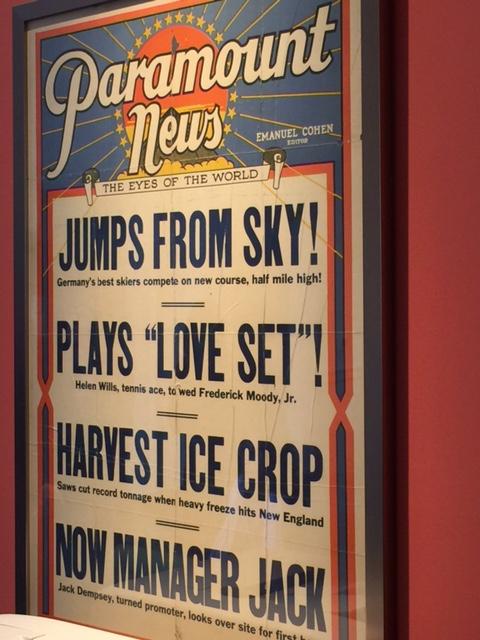 Paramount News poster