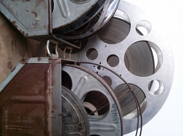 Old movie reels